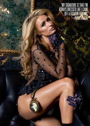 Paris Hilton: V Magazine -01