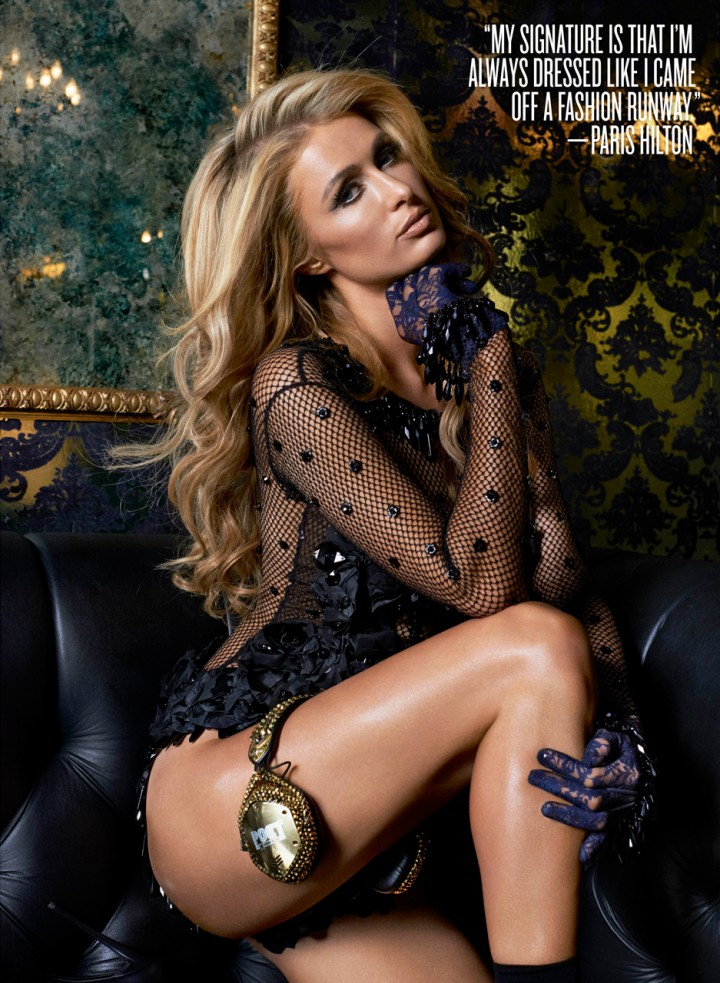 Paris Hilton – V Magazine (March 2014)