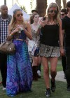 Paris and Nicky Hilton at 2013 Coachella Valley Music and Arts Festival in Indio -14