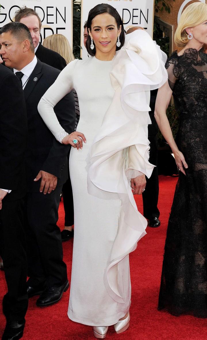 Paula Patton – 71st Annual Golden Globe Awards in Beverly Hills