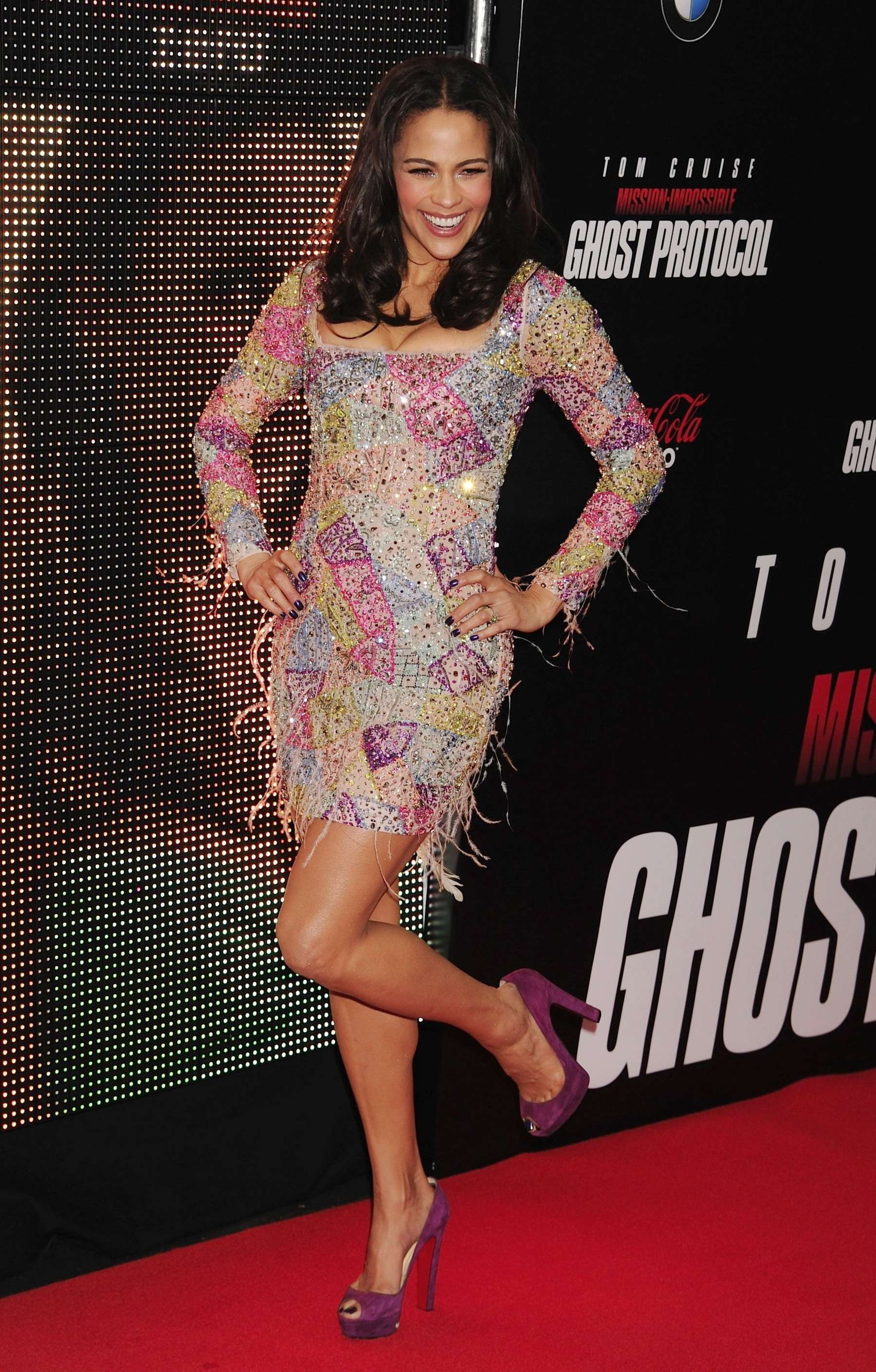 Paula Patton Hot At Mission Impossible Ghost Premiere 07