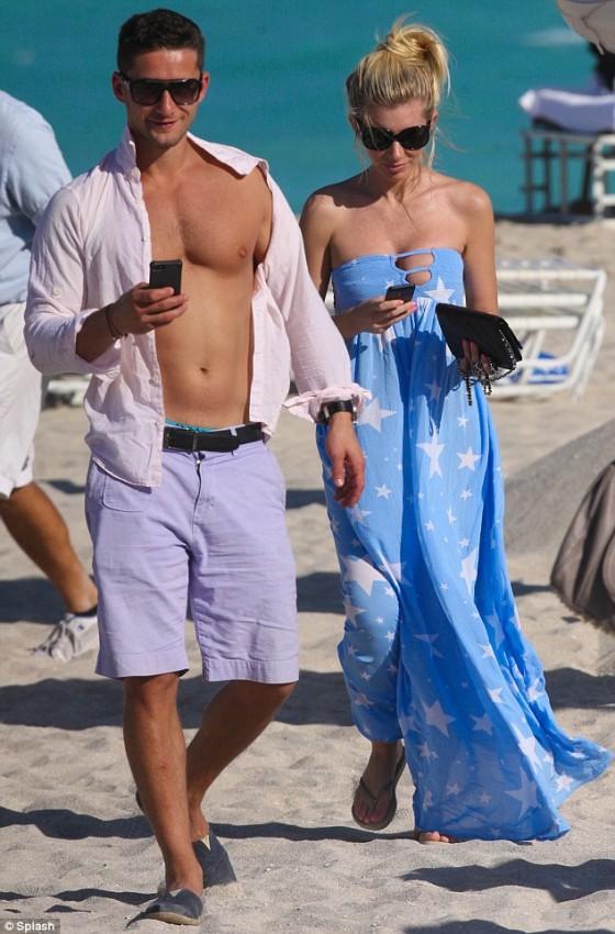 Paulina Gretzky at Miami Beach