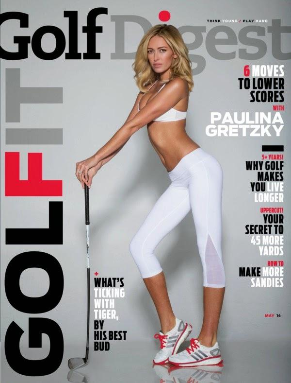 Paulina Gretzky – Golf Digest Magazine (April 2014)