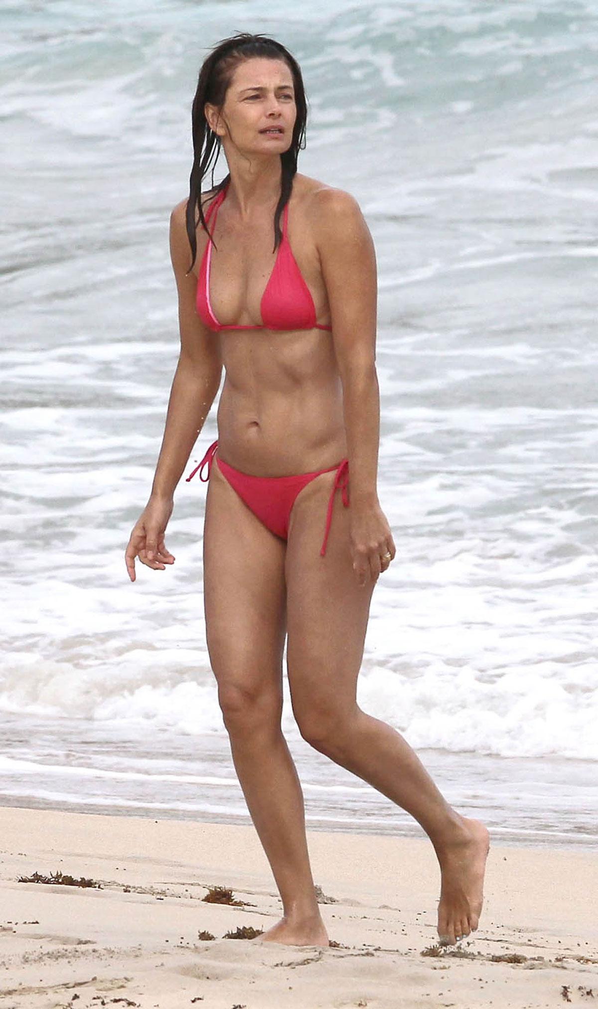 Bikini Paulina Porizkova naked (92 photos), Paparazzi