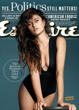 Penelope Cruz: Esquire 2014 -08