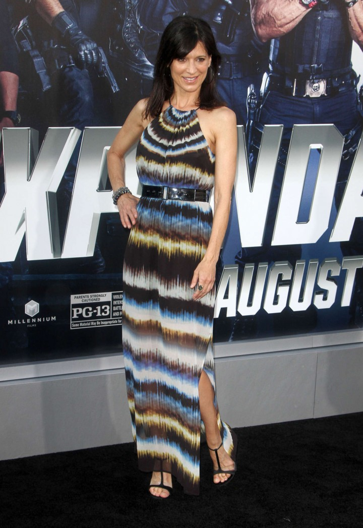 Perrey Reeves: The Expendables 3 LA Premiere -01