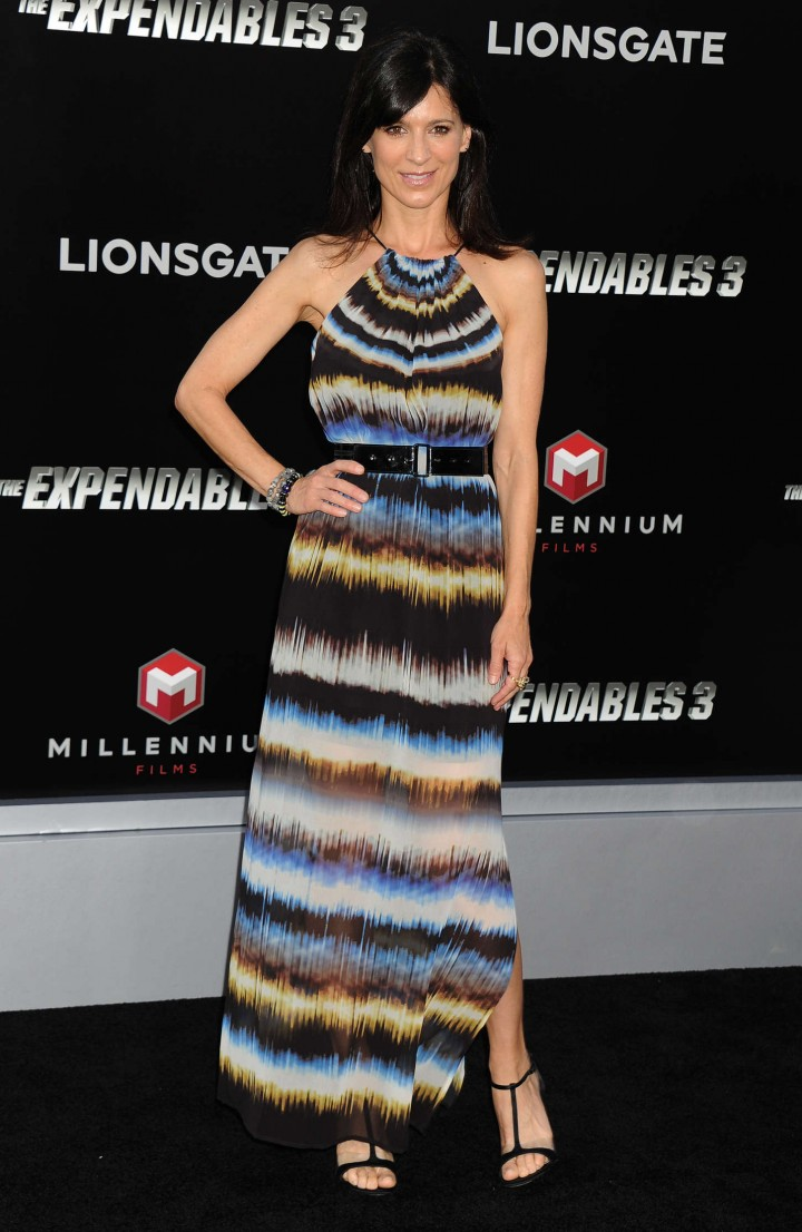 "Perrey Reeves – ""The Expendables 3"" Premiere in Hollywood"