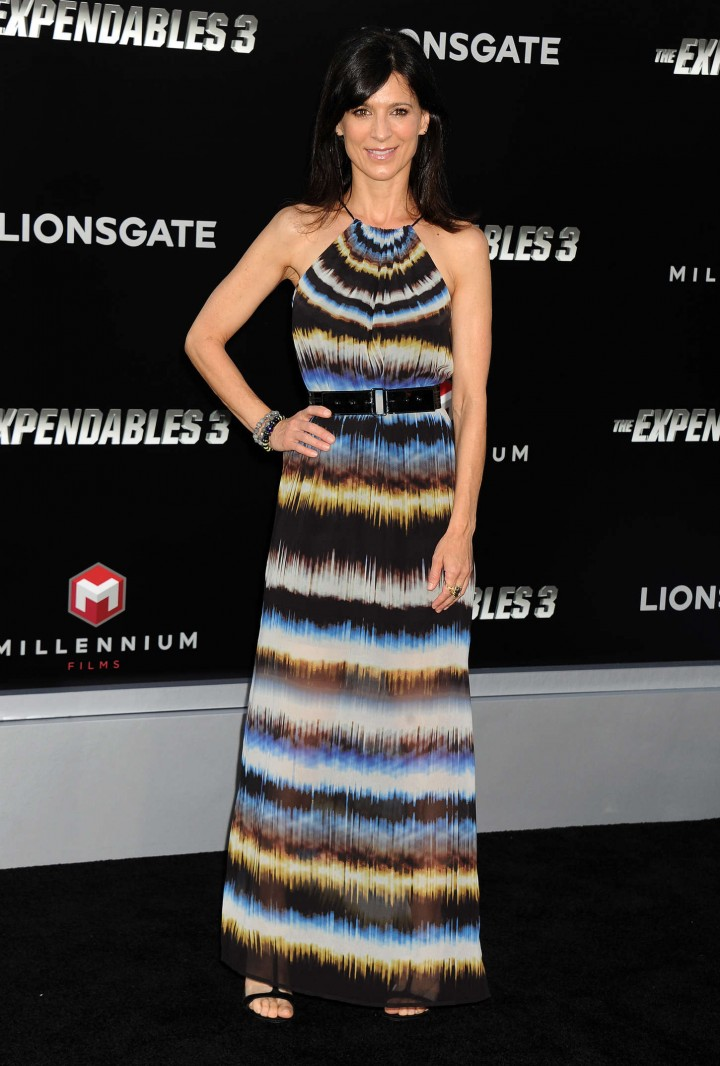Perrey Reeves: The Expendables 3 LA Premiere -06