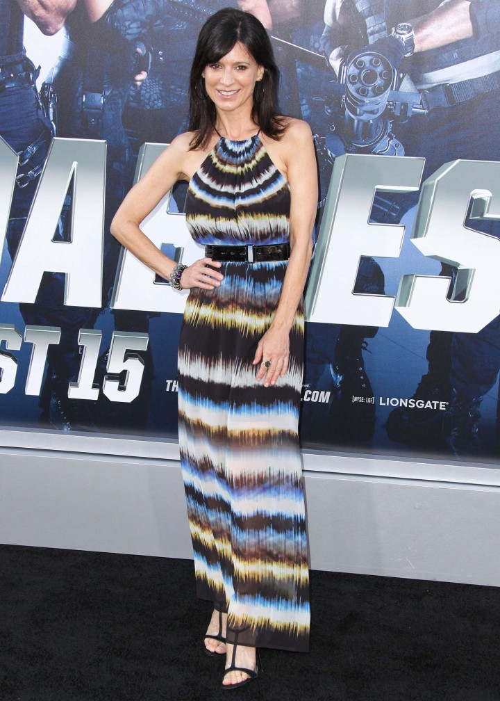 Perrey Reeves: The Expendables 3 LA Premiere -08