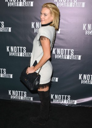 Peta Murgatroyd - Knott's Scary Farm Opening Night in Buena Park