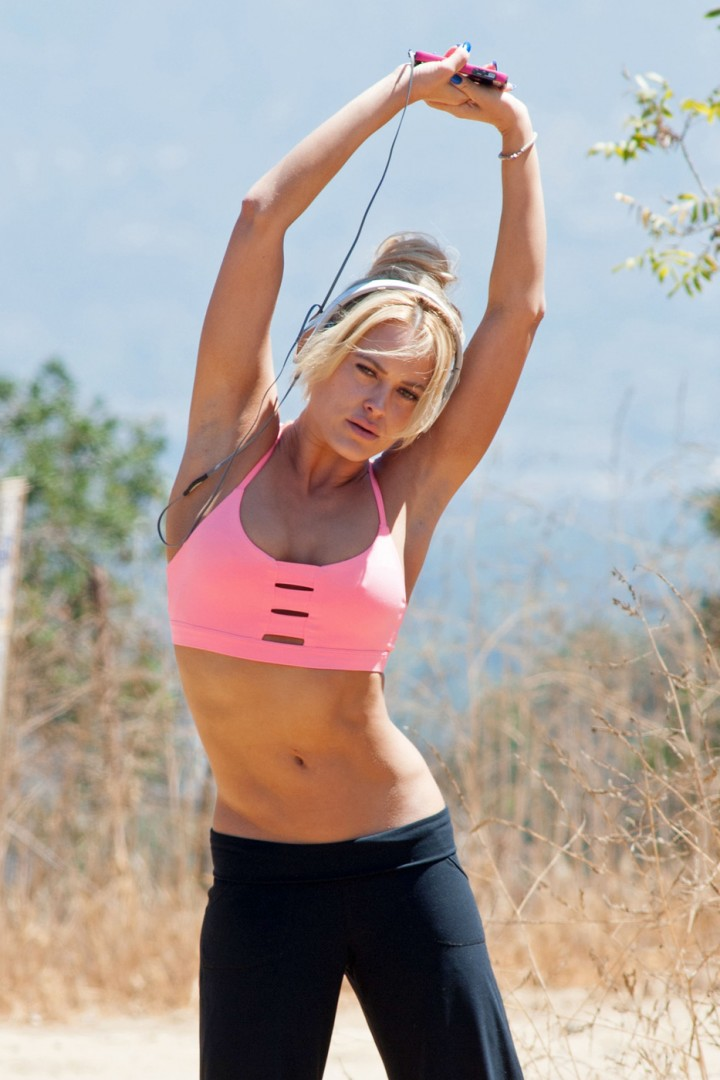 Peta Murgatroyd Workout