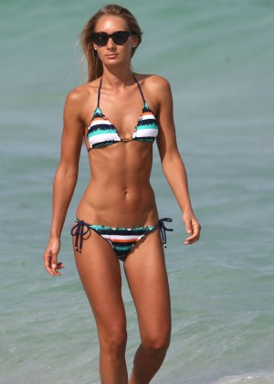 Petra Benova in Bikini on Miami Beach