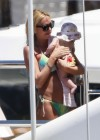 Petra Ecclestone and Tamara Bikini candids on yacht in Capri-03