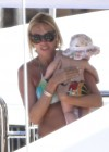 Petra Ecclestone and Tamara Bikini candids on yacht in Capri-07