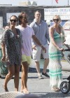 Petra Ecclestone and Tamara Bikini candids on yacht in Capri-18