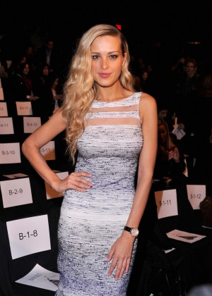 Petra Nemcova: 2014 Fashion Show in NYC - Badgley Mischka -01