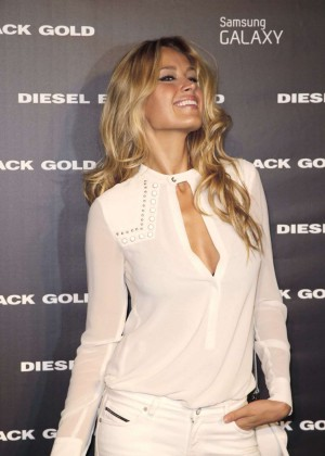 Petra Nemcova - Diesel Black Gold Fashion Show in New York