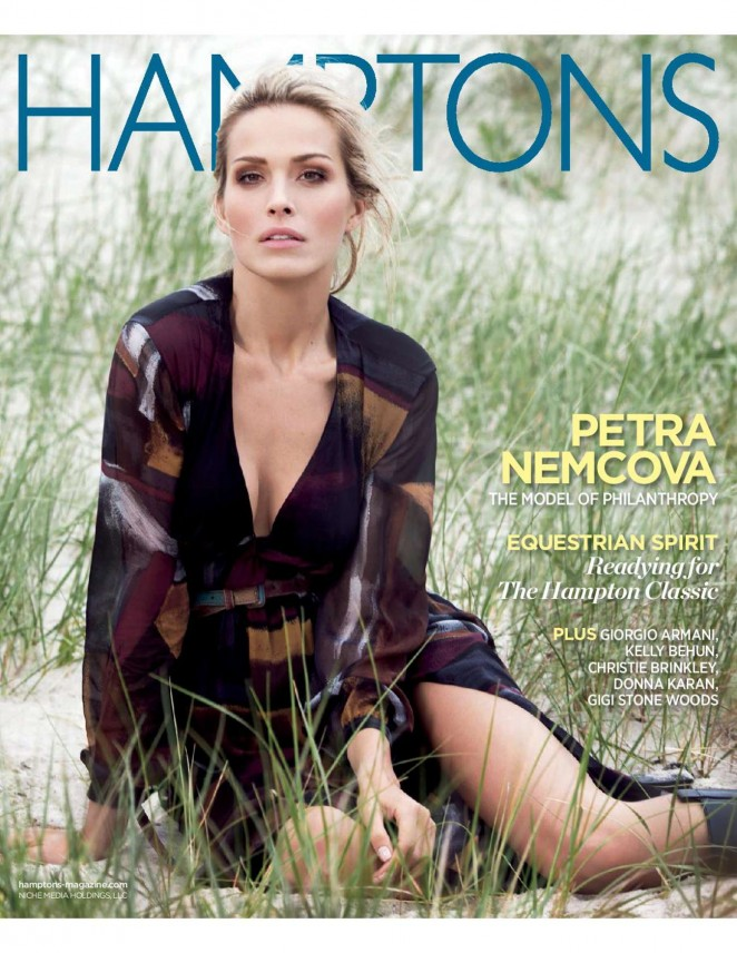 Petra Nemcova - Hamptons Magazine (September 2014)