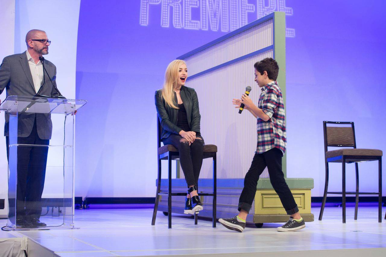 Peyton R List 2014 : Peyton R List: Premiere Event at Walt Disney World -06