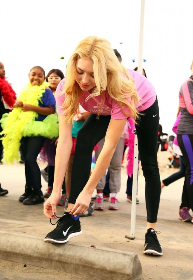 Peyton Roi List - Girls on the Run 5k Fun Run in Vista Del Mar