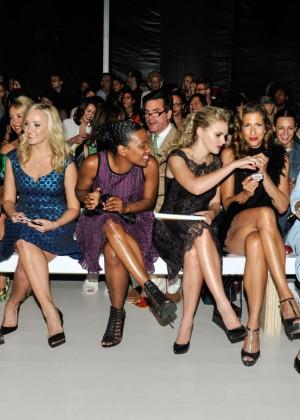 Peyton List At Nanette Lepore Fashion Show