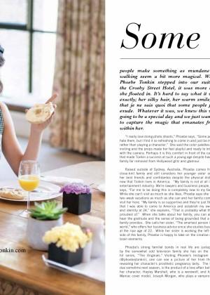 Phoebe Tonkin: Maniac Magazine -04