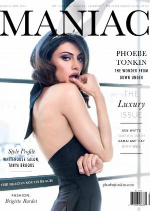 Phoebe Tonkin: Maniac Magazine -11