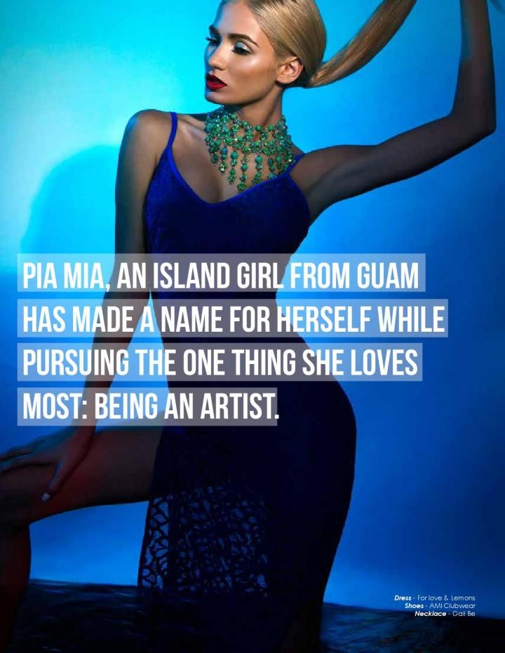 Pia Mia Perez - Annex Magazine 'Wave of Pontus Issue' Volume 9 2014