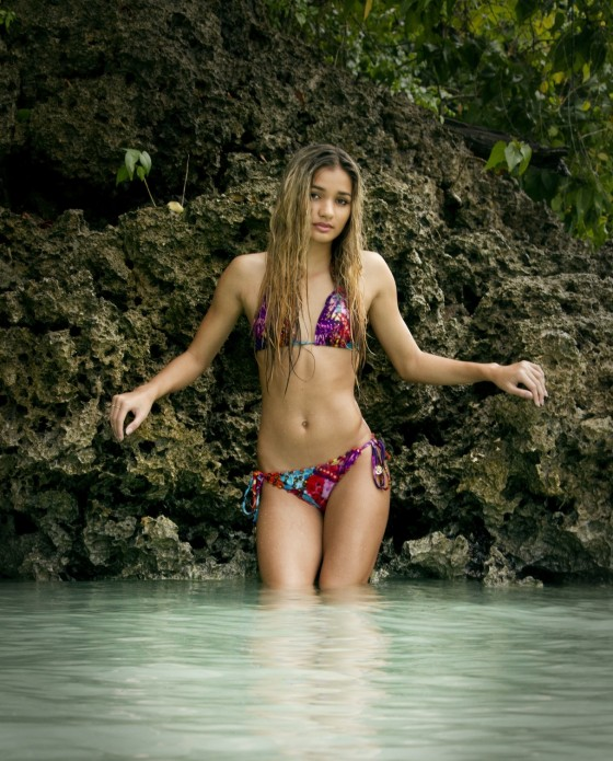 Pia Mia Perez - Bikini Photoshoot for Aaron and Salome Brimhall in Guam
