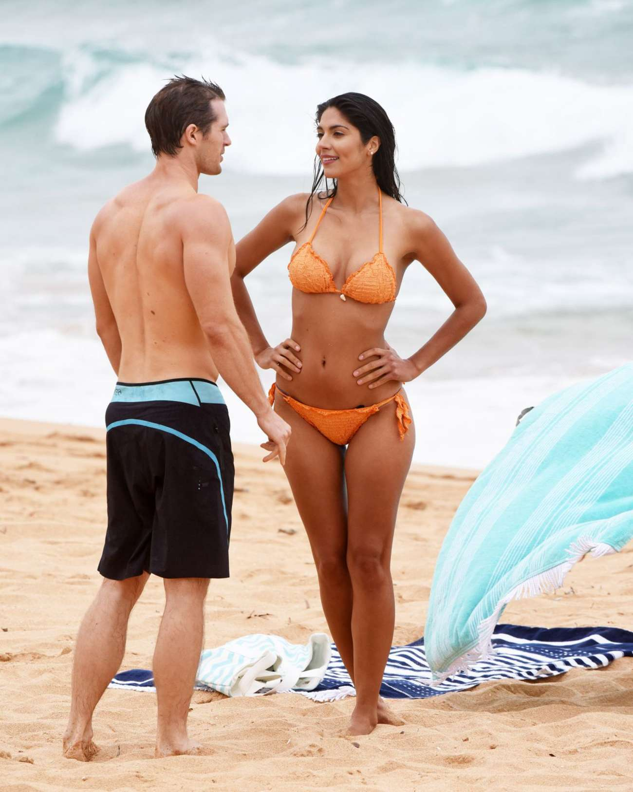 Pia Miller in Bikini on Home and Away set -10 - GotCeleb