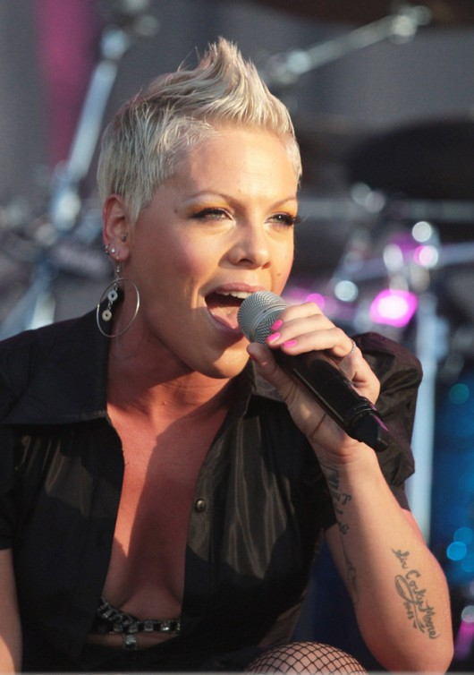 Pink Live At Tuborg Greenfest in St. Petersburg, Russia