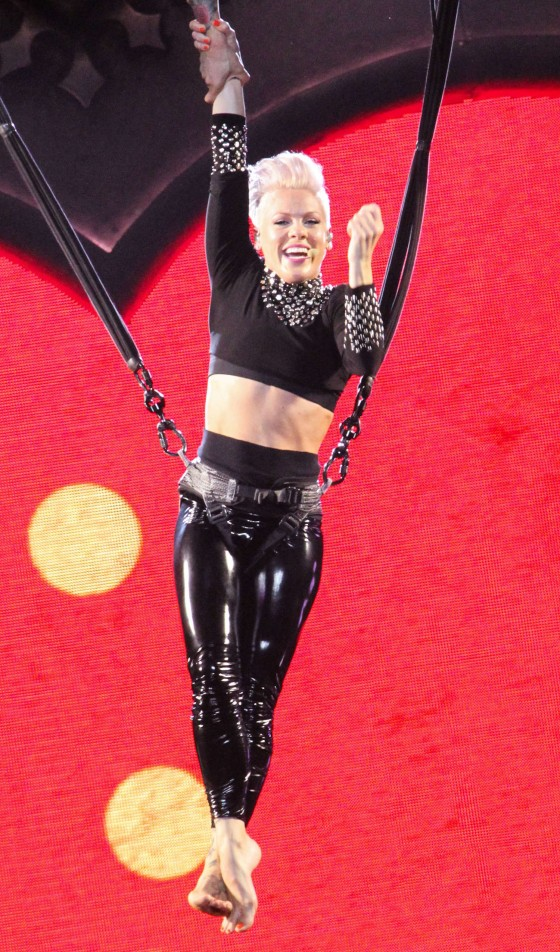 Pink - Performing at Staples Center -03
