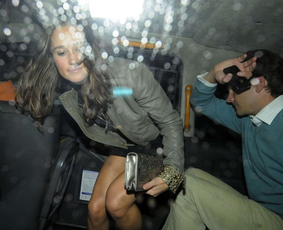Pippa Middleton at nightclub in London