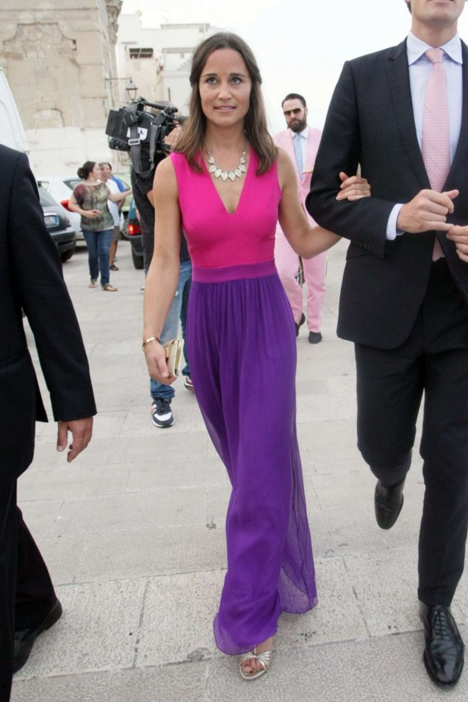 Pippa Middleton at Wedding in Italy