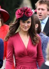 Pippa Middleton In pink dress