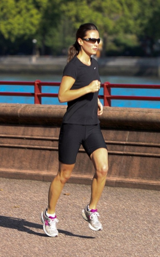 Pippa Middleton Jogging Candids in London – July 22
