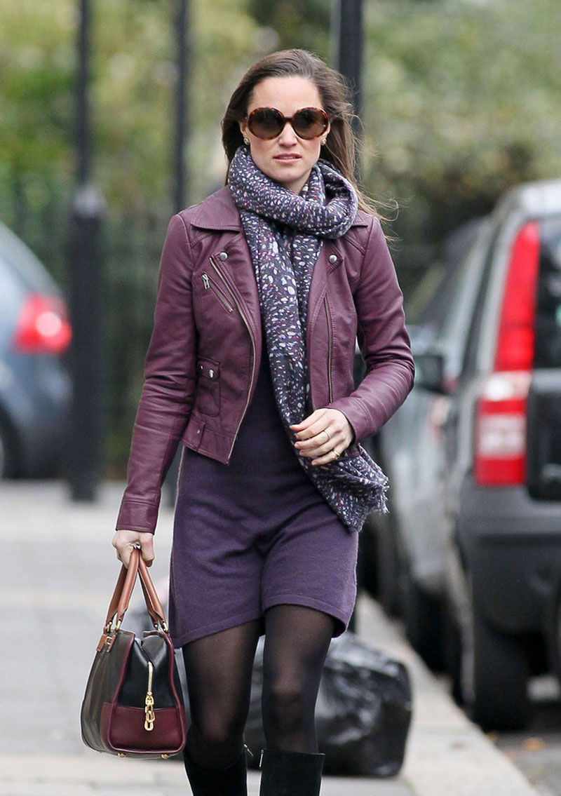 Pippa Middleton 2012 : Pippa Middleton Out in London-03
