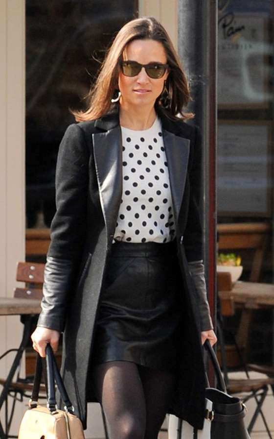 Pippa Middleton – out in London