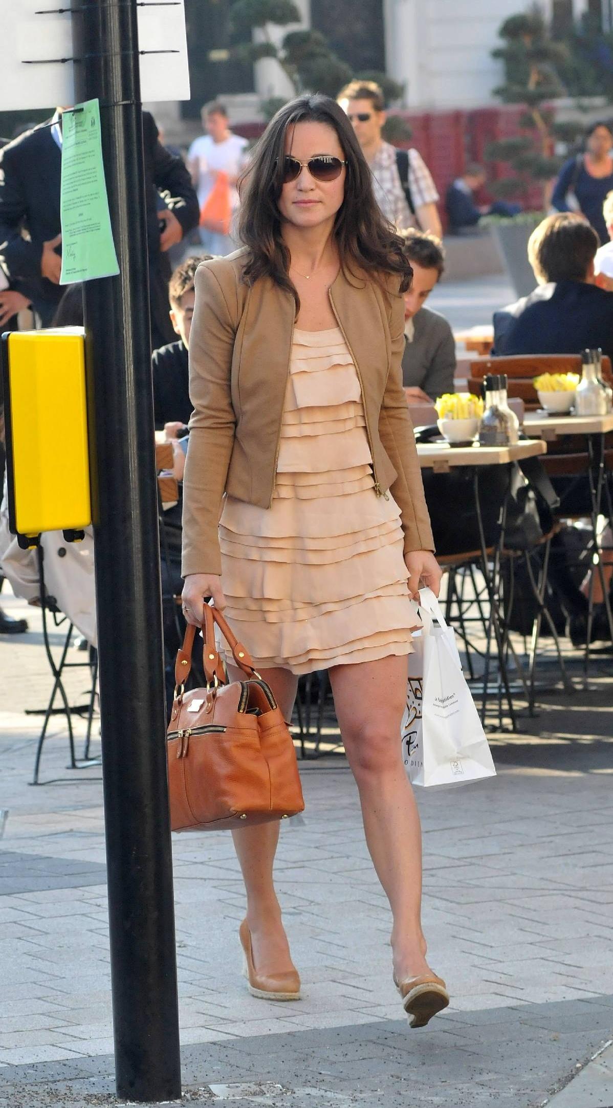 Pippa Middleton - Short Skirt Candids-05