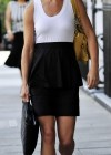 Pippa Middleton Wearing White Tank Top in London-12