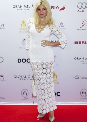 Pixie Lott - Global Gift Gala 2014 in Marbella