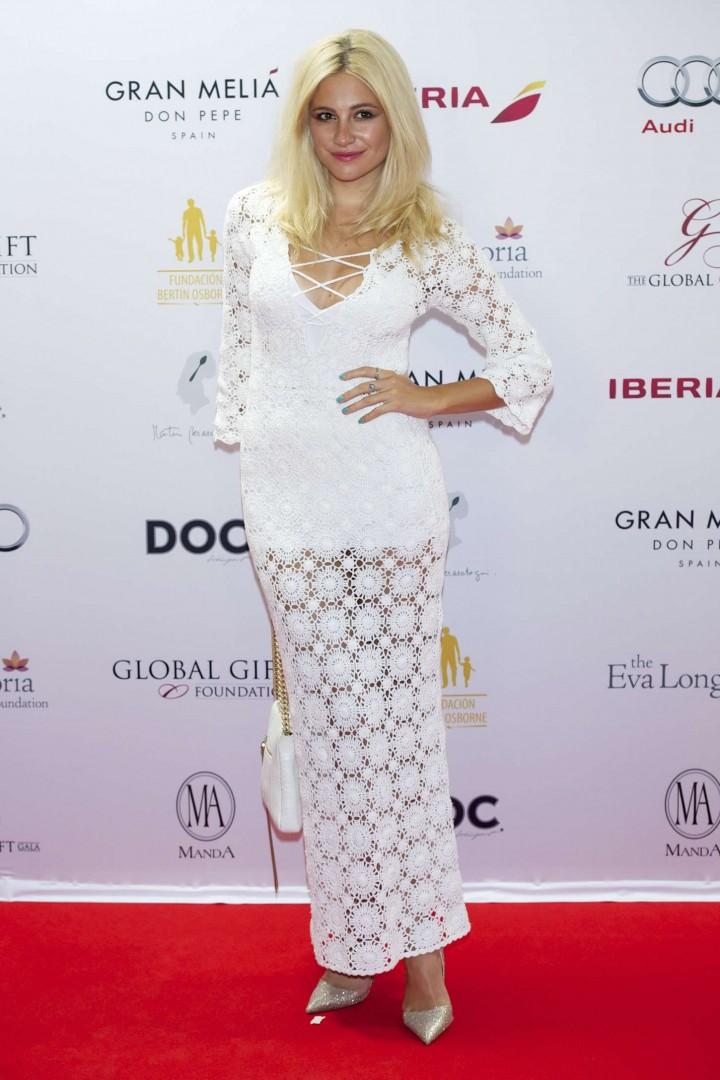 Pixie Lott - Global Gift Gala 2014 in Marbella