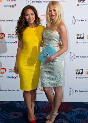 Pixie Lott and Myleene Klass - Radio Academy Awards in London-01