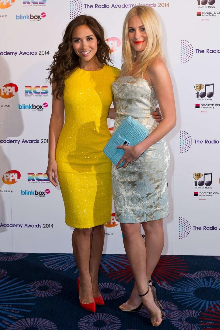 Pixie Lott and Myleene Klass - Radio Academy Awards in London-02