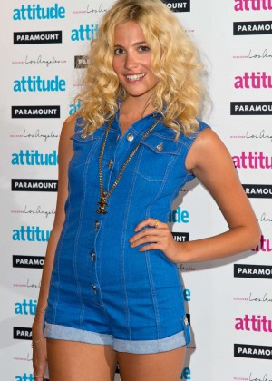 Pixie Lott Attitude Magazine Hot 100 Party -11