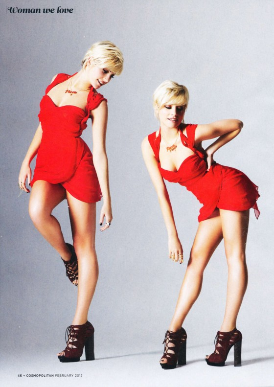 Pixie Lott - Hot in a Red for Cosmopolitan Magazine-02