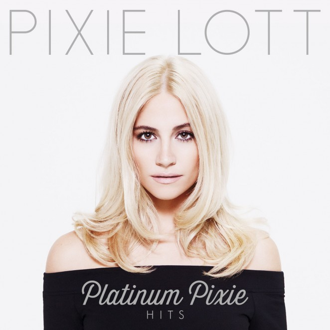 """Pixie Lott - Cover Photo for """"Platinum Pixie"""" Greatest Hits Disc 2014"""