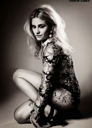 Pixie Lott - Marie Claire UK Magazine (February 2015)