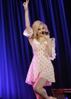 Pixie Lott - looks lovely in a short dress at Concert