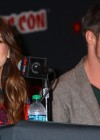 pKristin Kreuk: Beauty and the Beast Panel at New York Comic Con -04